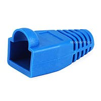 Monoprice RJ45 Strain Relief Boots, 50 pcs/pack, Blue