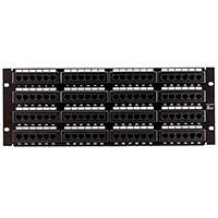 Monoprice 96-port Cat6 Patch Panel, 110 Type (568A/B Compatible)