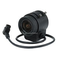 Monoprice 1/3 Inch 3-9mm IR F1.2 Varifocal DC Iris CS Mount Lens W/IR Correction