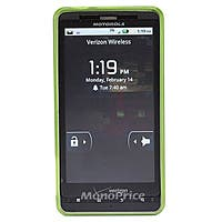 TPU Case for Motorola Droid X and Droid X2, Green