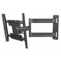 Monoprice Titan Series Full-Motion Articulating TV Wall Mount Bracket - For TVs 32in to 46in, Max Weight 125lbs, Extension Range of 3.8in to 24.7in, VESA Patterns Up to 400x300