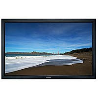 Monoprice 150in HD White Fabric Fixed Frame Projection Screen 16:9