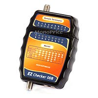 Monoprice Multi-Function F-Type, RJ-12, and RJ-45 Cable Tester