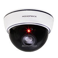 Monoprice White Dummy Dome Camera