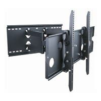 Monoprice Titan Series Full-Motion Articulating TV Wall Mount Bracket for TVs 32in to 60in, Max Weight 175 lbs, Extension Range of 5.0in to 20.0in, VESA Up to 750x450, Works with Concrete & Brick