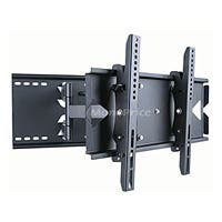 Monoprice Titan Series Full-Motion Articulating TV Wall Mount Bracket - For TVs 23in to 37in, Max Weight 130lbs, Extension Range of 5.0in to 19.5in, VESA Up to 496x330, Works with Concrete & Brick