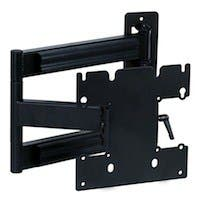 Titan Series Swivel Wall Mount for Small 20 - 42 inch TVs 80lbs Black - No Logo