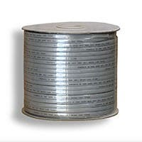 Monoprice 8 Wire, Stranded, Silver - 1000ft