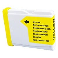 Monoprice compatible Brother LC51Y inkjet- yellow