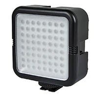 64 LED Photo / Video Light Panel - Black