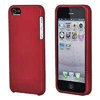 PC Soft Touch Case - Metallic Red