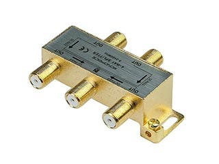Product Image for Monoprice - 4-Way Coaxial Splitter