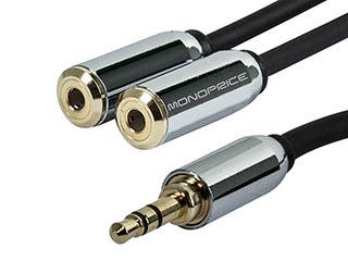 Product Image for Designed for Mobile 6inch 3.5mm Stereo Splitter