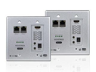Product Image for HDBaseT Wall Plate Extender Kit