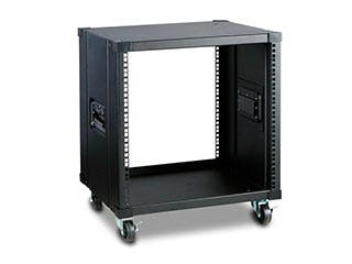 Product Image for Monoprice 10U 450mm Depth Simple Server Rack - GSA Approved