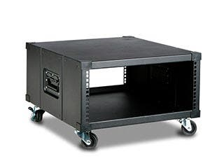 Product Image for Monoprice 4U 600mm Depth Simple Server Rack - GSA Approved
