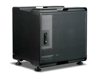 Product Image for 9U 380mm Depth Audio/Video Rackmount Cabinet - GSA Approved