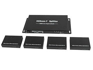 Product Image for HDBaseT™ 1x4 HDMI® Splitter and 4 Receivers