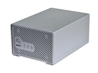 Product Image for Dual Bay Thunderbolt™ 2 Cactus Bridge Enclosure with Cable - Silver