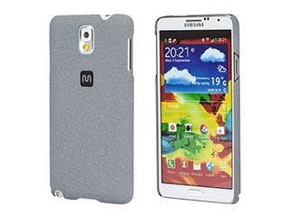 Product Image for PC Case with Soft Sand Finish for Galaxy Note 3- Granite Gray
