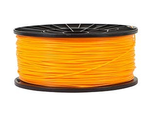 Product Image for Premium 3D Printer Filament PLA 1.75mm 1kg/spool, Bright Orange