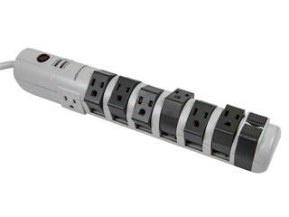 Product Image for 8 Outlet Rotating Surge Strip - 2160 Joules