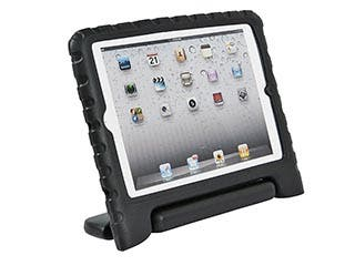 Product Image for Kidz Cover and Stand for iPad Air, Black