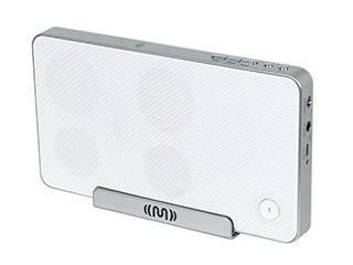 Product Image for Bluetooth® NFC Speaker with Cradle - White