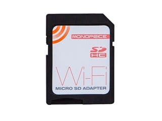 Product Image for Wi-Fi microSD Adapter (Rev.2), Wi-Fi SD Card