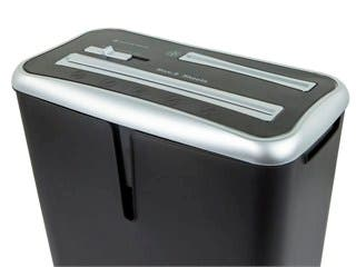 Product Image for 8-Sheet Cross Cut Shredder with Bin for Paper, CD, and Card