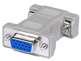 Product Image for Monoprice HD15(HD VGA/SVGA) F/F, Molded Gender Changers