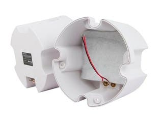 "Product Image for ABS Back Enclosure (Pair) for PID 4103, 6 1/2"" Ceiling Speaker"