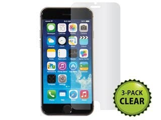 Product Image for Screen Protector (3-Pack) w/ Cleaning Cloth for 4.7-inch iPhone® 6 and 6s - Transparent Finish