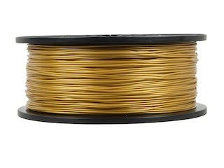 Product Image for Monoprice Premium 3D Printer Filament PLA 1.75mm 1kg/spool, Gold