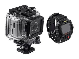 Product Image for Monoprice MHD Sport 2.0 Wi-Fi Action Camera + Live View RF Wrist Remote