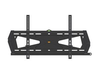 Monoprice Tilt TV Wall Mount Bracket For TVs 37in to 70in, Max Weight 88lbs, VESA Patterns Up to 600x400, Security Brackets, Works with Concrete & Brick, UL Certified