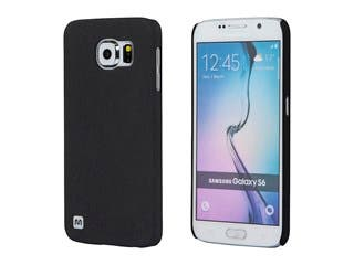 Product Image for PC Case with Soft Sand Finish for Samsung Galaxy S®6  - Pumice Black