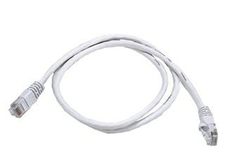 Product Image for Cat5e 24AWG UTP Ethernet Network Patch Cable, 3ft White