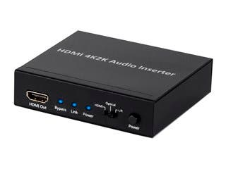 Product Image for Monoprice Blackbird 4K Series HDMI Audio Inserter
