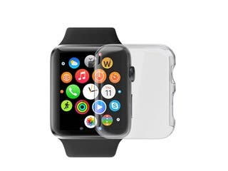 Product Image for Ultra-Thin Clear Polycarbonate Screen Case for 38mm Apple Watch