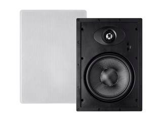 Product Image for Monoprice Alpha In-Wall Speakers 8in Carbon Fiber 2-way (pair)