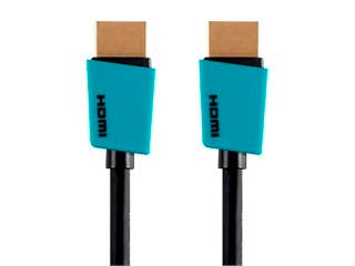 Product Image for Monoprice Essentials Palette Series High Speed HDMI Cable - 4K @ 60Hz, 10.2Gbps, 32AWG, 6ft, Blue