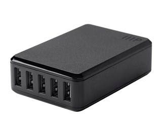 Product Image for Obsidian Series 5-Port 8A USB Smart Charger