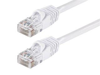 Product Image for Cat5e 24AWG UTP Ethernet Network Patch Cable, 25ft White