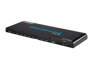 Blackbird 4K Pro 1x8 HDMI Splitter HDR 18Gbps 4K@60Hz YCbCr 4:4:4 with HDCP 2.2 and EDID Support