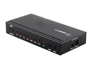 Product Image for Blackbird 4K 4x1 HDMI Switch with Digital Coaxial and Digital Optical Audio Outputs