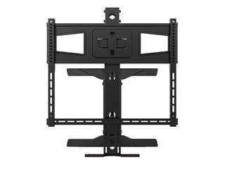 "Above Fireplace Pull-Down Full-Motion TV Wall Mount Max 70lbs for 40"" to 63"" Displays"