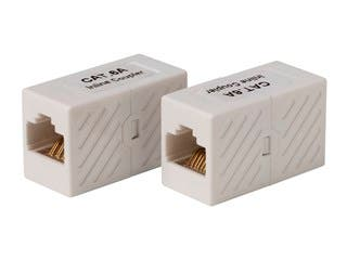Product Image for Cat6A UTP In-Line Coupler RJ45-RJ45