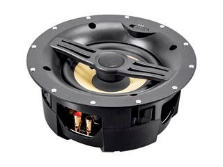 Black Back Ceiling Speakers 6.5-inch Fiber 2-Way with Covered Crossover (pair)