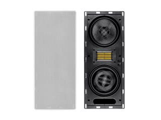 Monoprice Amber In-Wall Speaker 6.5-inch 3-way Carbon Fiber Column with Ribbon Tweeter (each)